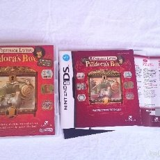 Videojuegos y Consolas Nintendo 3DS XL: PROFESSOR LAYTON AND PANDORA´S BOX PANDORA COMPLETO NINTENDO DS DSI 2DS 3DS XL PAL UK. Lote 57302945