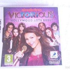 Videojuegos y Consolas Nintendo 3DS XL: VICTORIOUS HOLLYWOOD ARTS DEBUT NINTENDO DS DSI 2DS 3DS XL PAL NUEVO PRECINTADO. Lote 57339957