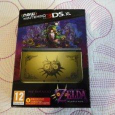 Videojuegos y Consolas Nintendo 3DS XL: NEW NINTENDO 3DS XL THE LEGEND OF ZELDA MAJORA'S MASK A ESTRENAR. Lote 58753138