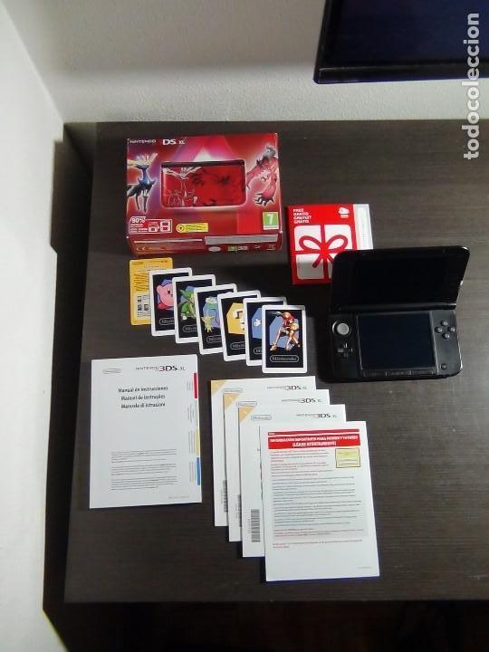 Videojuegos y Consolas Nintendo 3DS XL: Nintendo 3DS XL edicion pokemon XY - Rojo. - No ofertas - - Foto 5 - 126209227
