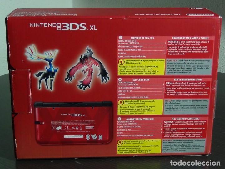 Videojuegos y Consolas Nintendo 3DS XL: Nintendo 3DS XL edicion pokemon XY - Rojo. - No ofertas - - Foto 11 - 126209227