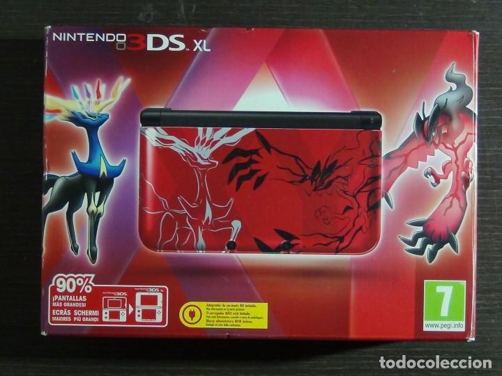 Videojuegos y Consolas Nintendo 3DS XL: Nintendo 3DS XL edicion pokemon XY - Rojo. - No ofertas - - Foto 4 - 126209227