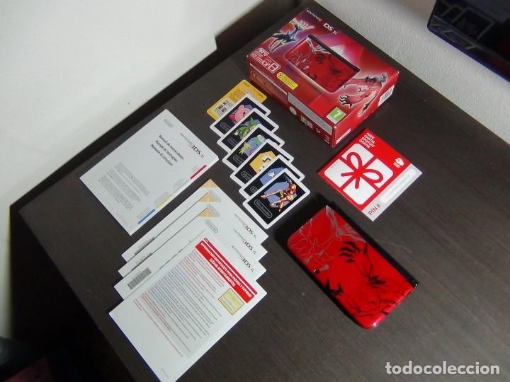 Videojuegos y Consolas Nintendo 3DS XL: Nintendo 3DS XL edicion pokemon XY - Rojo. - No ofertas - - Foto 2 - 126209227