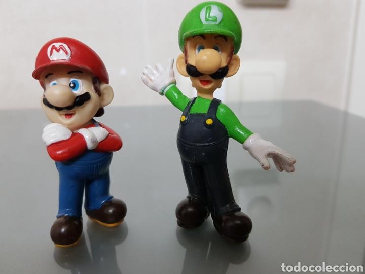 2X FIGURAS PVC SUPERMARIO Y LUIGI NINTENDO 2004 (Juguetes - Videojuegos y Consolas - Nintendo - 3DS XL)