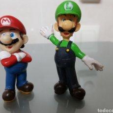 Videojuegos y Consolas Nintendo 3DS XL: 2X FIGURAS PVC SUPERMARIO Y LUIGI NINTENDO 2004. Lote 128880182