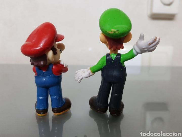 Videojuegos y Consolas Nintendo 3DS XL: 2x FIGURAS PVC SUPERMARIO Y LUIGI NINTENDO 2004 - Foto 2 - 128880182
