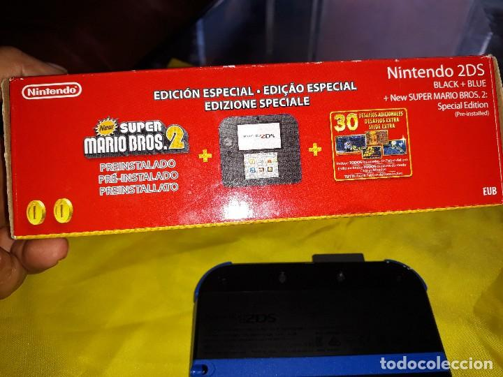 Consola Video Juego Nintendo 2ds Super Mario B Comprar