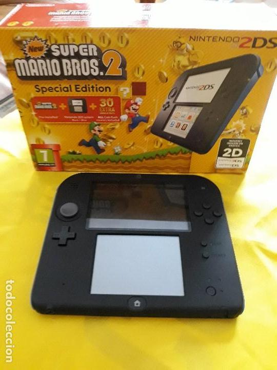 Consola Video Juego Nintendo 2ds Super Mario B Comprar