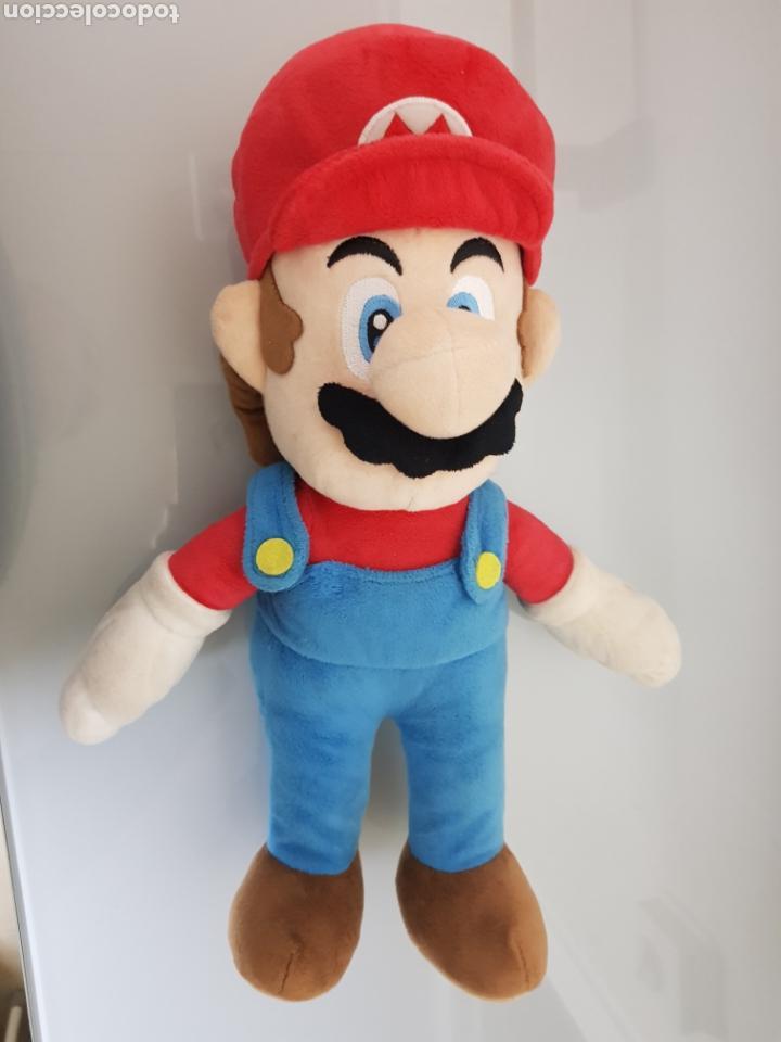 Videojuegos y Consolas Nintendo 3DS XL: 2x PELUCHE LUIGI Y SUPERMARIO BROS NINTENDO OFICIAL 38cm - Foto 2 - 126599922