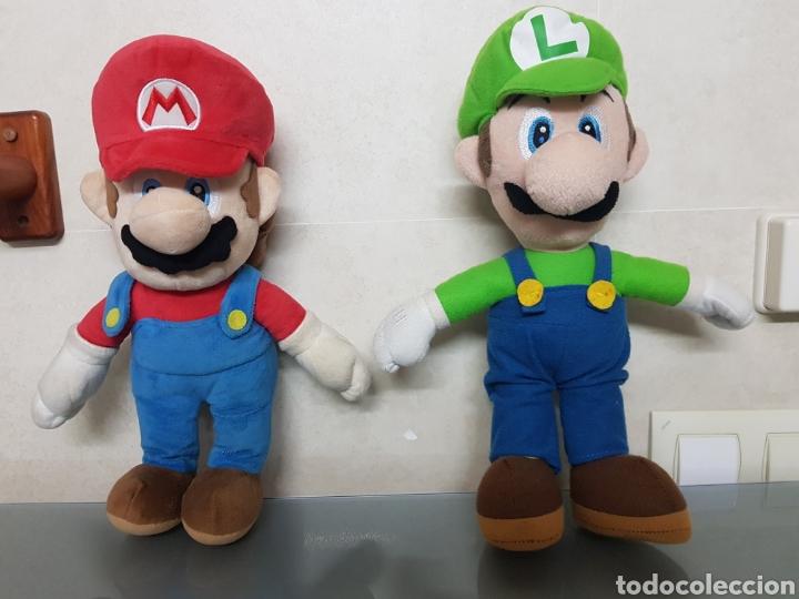 2X PELUCHE LUIGI Y SUPERMARIO BROS NINTENDO OFICIAL 38CM (Juguetes - Videojuegos y Consolas - Nintendo - 3DS XL)
