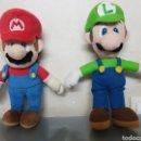 Videojuegos y Consolas Nintendo 3DS XL: PELUCHE LUIGI DE SUPERMARIO BROS NINTENDO OFICIAL 38CM. Lote 126599922