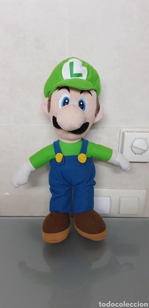 Videojuegos y Consolas Nintendo 3DS XL: 2x PELUCHE LUIGI Y SUPERMARIO BROS NINTENDO OFICIAL 38cm - Foto 4 - 126599922