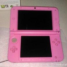Videojuegos y Consolas Nintendo 3DS XL: NINTENDO 3DS XL ROSA. CAJA,TARJETA 4GB Y CARGADOR. Lote 158316746