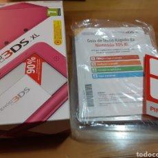 Videojuegos y Consolas Nintendo 3DS XL: CAJA VACIA CON TODOS LOS MANUALES NINTENDO 3DS XL. Lote 169234242