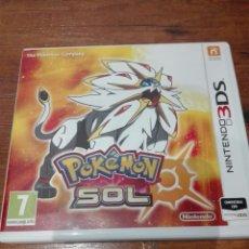 Videojuegos y Consolas Nintendo 3DS XL: JUEGO NINTENDO 3DS POKEMON SOL. Lote 176531343