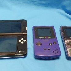 Videojuegos y Consolas Nintendo 3DS XL: LOTE NINTENDO GAME BOY Y 3DS PARA REPARAR O PIEZAS. Lote 178833708