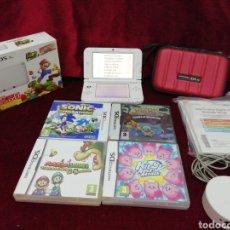 Videojuegos y Consolas Nintendo 3DS XL: LOTE NINTENDO 3DS XL. INCLUYE 4 JUEGOS Y PORTAL AMIIBO. Lote 179631171