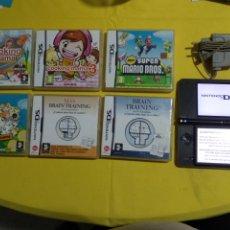 Videojuegos y Consolas Nintendo 3DS XL: NINTENDO DSI XL CON 6 JUEGOS. Lote 186102098