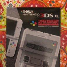 Videojuegos y Consolas Nintendo 3DS XL: NEW NINTENDO 3DS ED. ESPECIAL SUPER NINTENDO / SNES NUEVA PRECINTADA!!!. Lote 190783443
