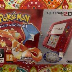 Videojuegos y Consolas Nintendo 3DS XL: CONSOLA 2DS ED. ESPECIAL POKÉMON ROJO NUEVA PRECINTADA!!!. Lote 190783472