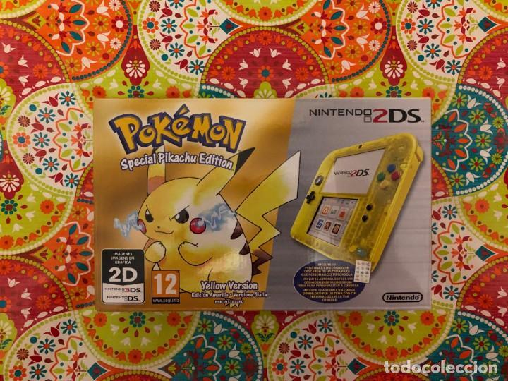 CONSOLA 2DS ED. ESPECIAL PIKACHU POKÉMON AMARILLO NUEVA PRECINTADA!!! (Juguetes - Videojuegos y Consolas - Nintendo - 3DS XL)