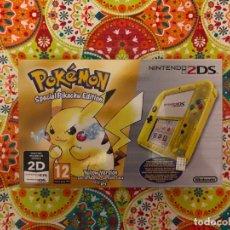 Videojuegos y Consolas Nintendo 3DS XL: CONSOLA 2DS ED. ESPECIAL PIKACHU POKÉMON AMARILLO NUEVA PRECINTADA!!!. Lote 190783497