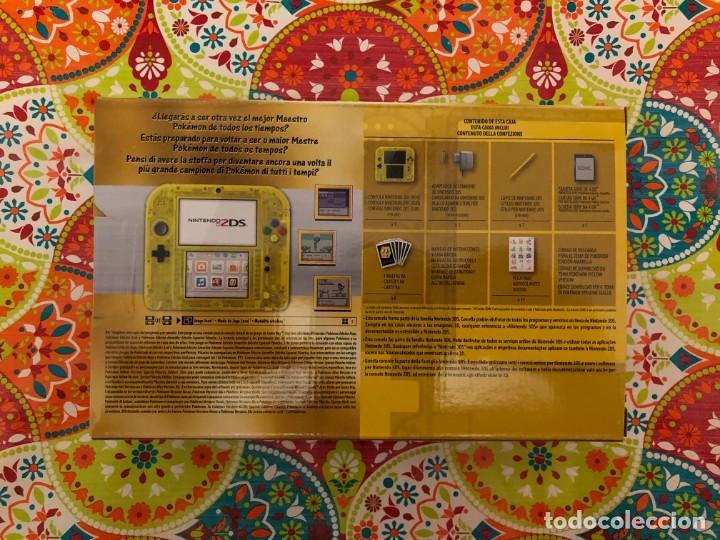 Videojuegos y Consolas Nintendo 3DS XL: Consola 2DS Ed. Especial Pikachu Pokémon Amarillo Nueva PRECINTADA!!! - Foto 2 - 190783497