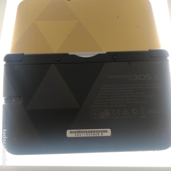 Videojuegos y Consolas Nintendo 3DS XL: Versión Zelda Nintendo 3DS xl dorada ds - Foto 4 - 190829576