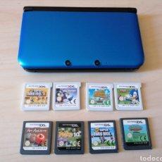 Videojuegos y Consolas Nintendo 3DS XL: NINTENDO 3DS XL + JUEGOS. Lote 196598817