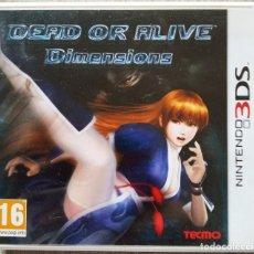 Videojuegos y Consolas Nintendo 3DS XL: JUEGO DEAD OR ALIVE DIMENSIONS - NINTENDO 3DS. Lote 199877406