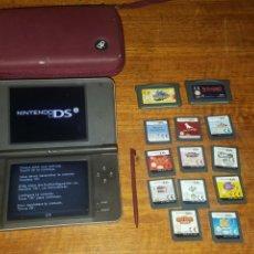 Videojuegos y Consolas Nintendo 3DS XL: NINTENDO DSI XL N DS LAPIZ PUNTERO Y MUCHOS JUEGOS BUEN ESTADO FUNCIONANDO. Lote 200888687