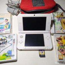 Videojuegos y Consolas Nintendo 3DS XL: CONSOLA NINTENDO 3DS XL + 4 JUEGOS + CARGADOR + TARJETA DE MEMORIA ( NO NEGOCIABLE). Lote 205800960