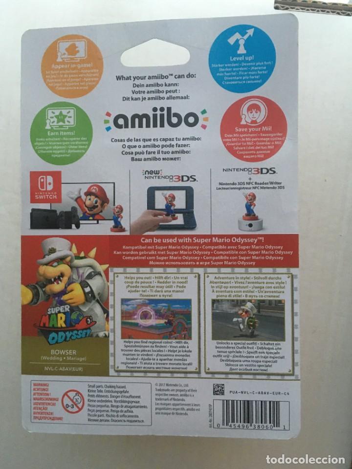 Videojuegos y Consolas Nintendo 3DS XL: SUPER MARIO ODYSSEY BOWSER AMIIBO NEW kreaten - Foto 3 - 208596576