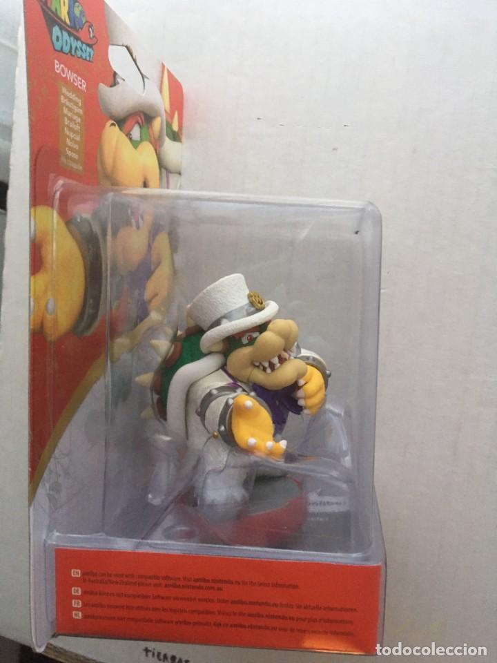 Videojuegos y Consolas Nintendo 3DS XL: SUPER MARIO ODYSSEY BOWSER AMIIBO NEW kreaten - Foto 4 - 208596576
