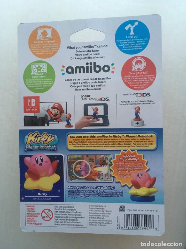 Videojuegos y Consolas Nintendo 3DS XL: KIRBY STAR PLANET ROBOBOT AMIIBO NEW kreaten - Foto 3 - 208596756