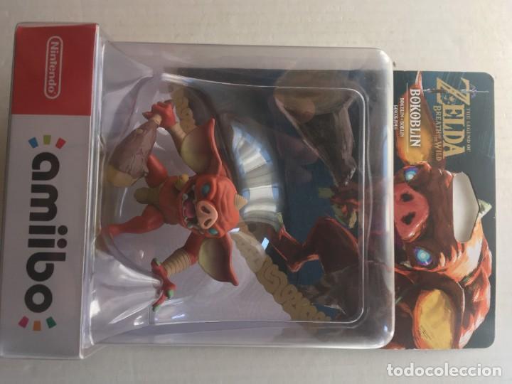 BOKOBLIN THE LEGEND OF ZELDA NUEVO AMIIBO KREATEN (Juguetes - Videojuegos y Consolas - Nintendo - 3DS XL)
