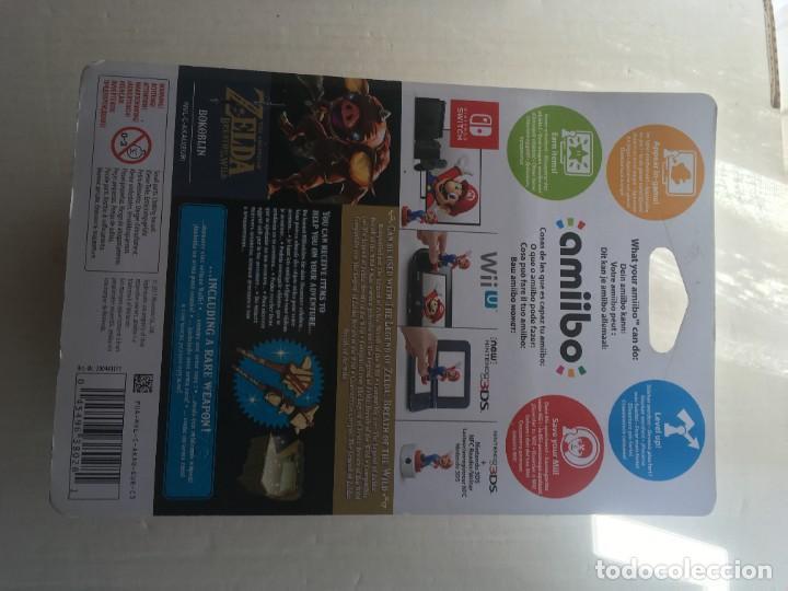 Videojuegos y Consolas Nintendo 3DS XL: BOKOBLIN THE LEGEND OF ZELDA NUEVO AMIIBO KREATEN - Foto 3 - 208668026