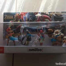 Videojuegos y Consolas Nintendo 3DS XL: FOUR CHAMPIONS PACK THE LEGEND OF ZELDA NUEVO AMIIBO KREATEN. Lote 208674970