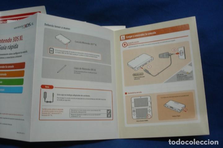 Videojuegos y Consolas Nintendo 3DS XL: MANUAL DE LA CONSOLA NINTENDO 3 DS XL - Foto 2 - 217086080