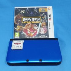 Videojuegos y Consolas Nintendo 3DS XL: VIDEO CONSOLA - NINTENDO 3DS XL CON 2 JUEGOS, PLANES/ANGRY BIRDS STAR WARS. Lote 217880750