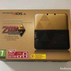 Videojuegos y Consolas Nintendo 3DS XL: NINTENDO 3DS XL, EDICIÓN ZELDA; A LINK BETWEEN WORLDS LÍMITES EDITION + MARIO 3D LAND INSTALADO.. Lote 218305383