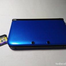 Videogiochi e Consoli: CONSOLA NINTENDO 3DS XL ( SIN CARGADOR ) + TARJETA DE MEMORIA 4GB. Lote 219368898