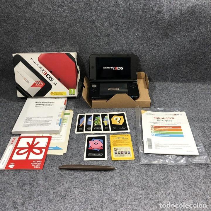 CONSOLA NINTENDO 3DS XL ROJA Y NEGRA CON CAJA (Juguetes - Videojuegos y Consolas - Nintendo - 3DS XL)