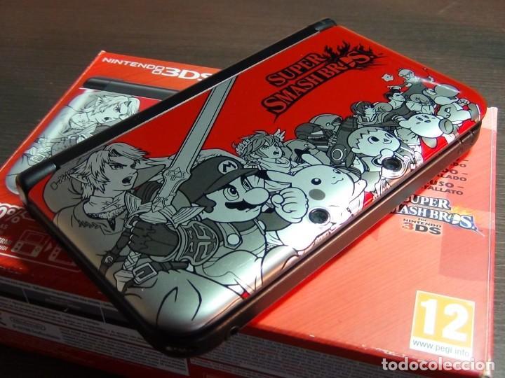 CONSOLA 3DS XL EDICIÓN SUPER SMASH BROS (Juguetes - Videojuegos y Consolas - Nintendo - 3DS XL)