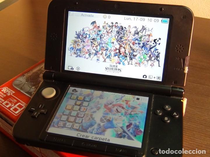Videojuegos y Consolas Nintendo 3DS XL: Consola 3DS XL Edición Super Smash Bros - Foto 6 - 242130825