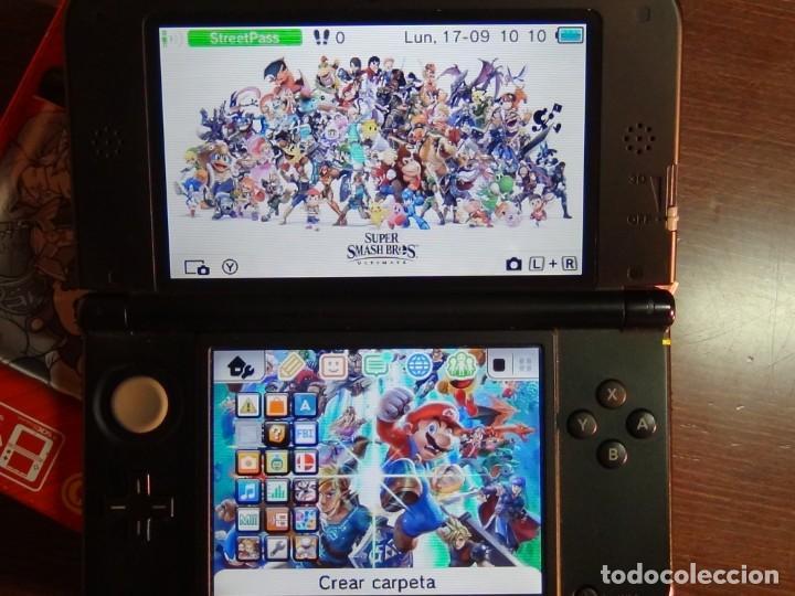 Videojuegos y Consolas Nintendo 3DS XL: Consola 3DS XL Edición Super Smash Bros - Foto 9 - 242130825
