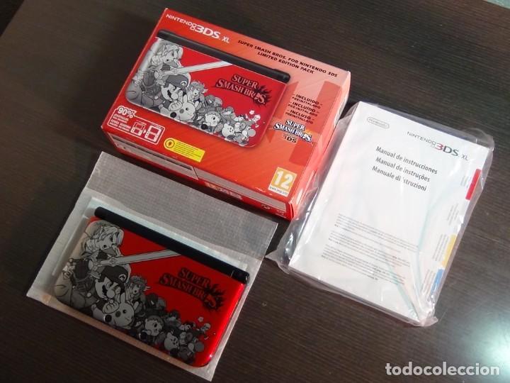 Videojuegos y Consolas Nintendo 3DS XL: Consola 3DS XL Edición Super Smash Bros - Foto 11 - 242130825
