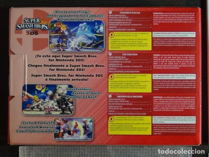 Videojuegos y Consolas Nintendo 3DS XL: Consola 3DS XL Edición Super Smash Bros - Foto 12 - 242130825