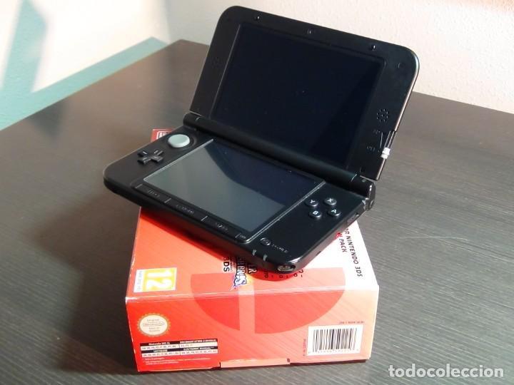 Videojuegos y Consolas Nintendo 3DS XL: Consola 3DS XL Edición Super Smash Bros - Foto 4 - 242130825
