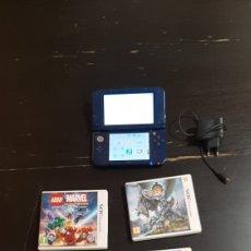 Videojuegos y Consolas Nintendo 3DS XL: NEW NINTENDO 3DS XL CON NUEVE JUEGOS. Lote 245267435